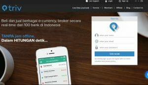 Triv Indonesia - Cryptocurrency exchange
