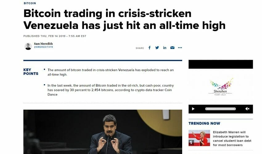 krisis venezuela dan kripto
