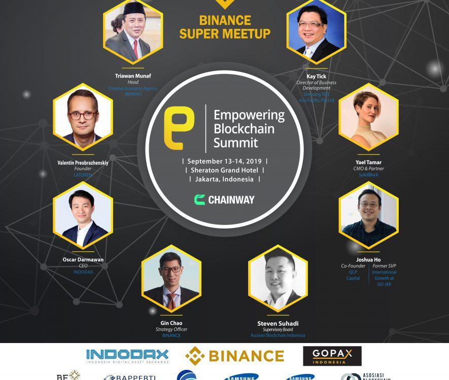 event blockchain Jakarta