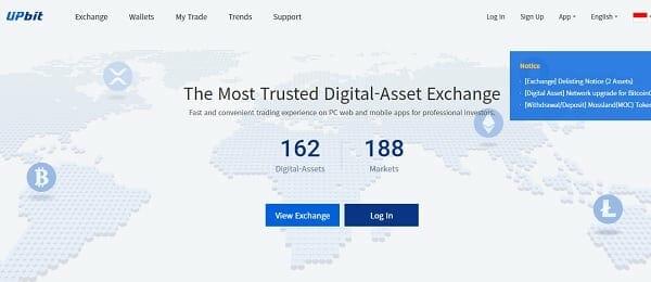 Upbit Indonesia - tempat trading bitcoin yang bagus