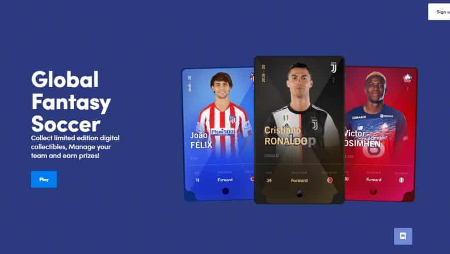 sorare blockchain sepakbola