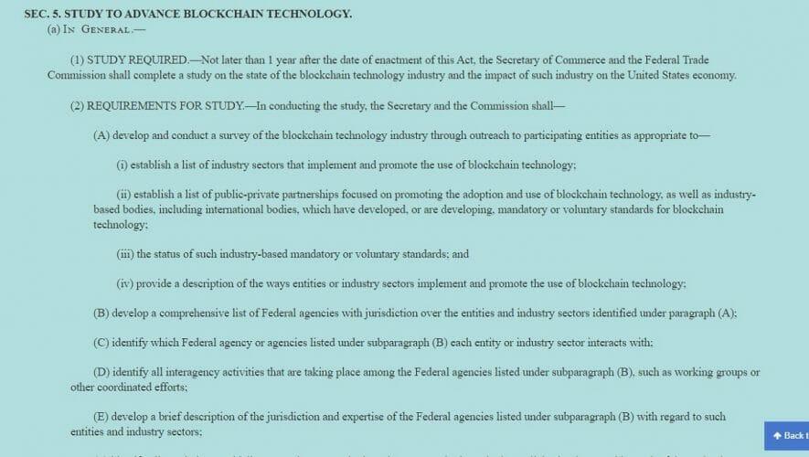 USA - Teknologi Blockchain