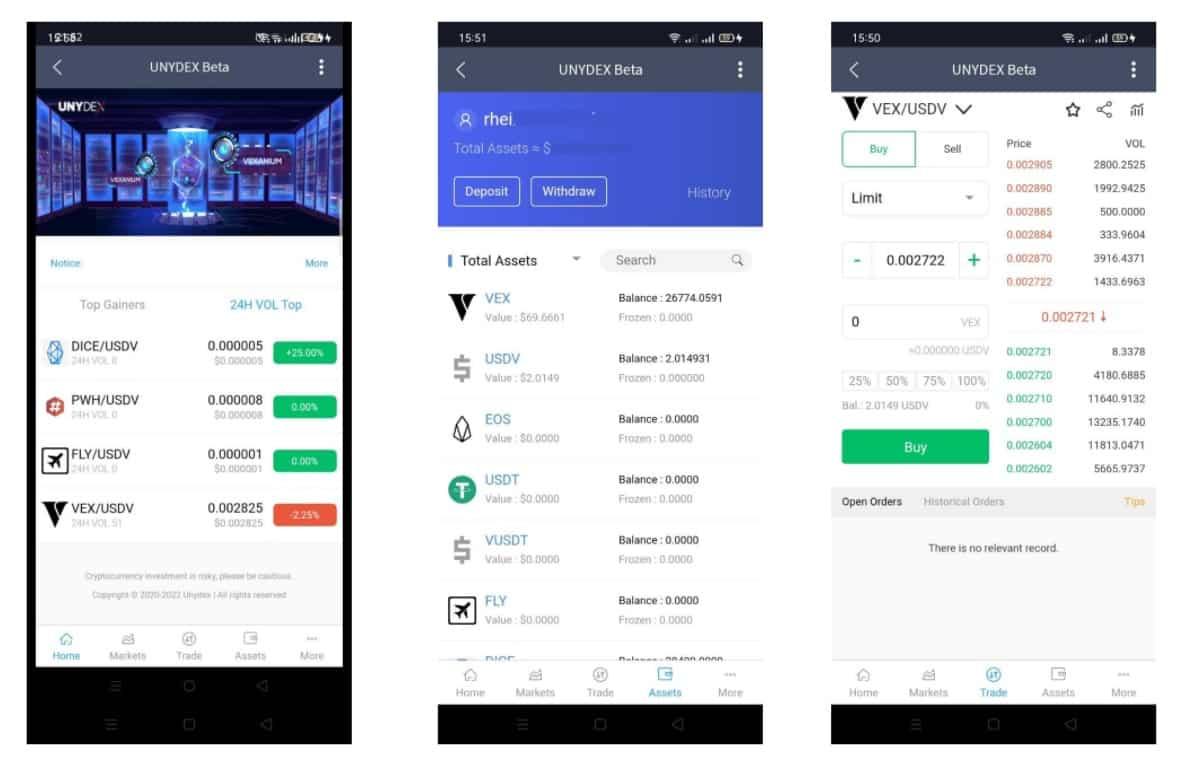 unydex decentralized exchange Indonesia